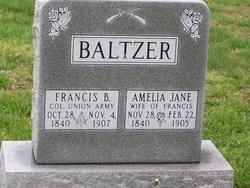 Amelia Jane <i>Prickett</i> Baltzer