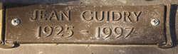 Doris Eugenie Edwards Jean <i>Quebedeaux</i> Guidry