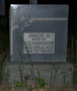 Amelia A. Hankinson