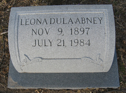 Leona <i>Dula</i> Abney