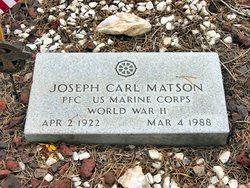 Joseph Carl Matson