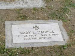 Mary Lillian Grandma Mary <i>Sanderson</i> Daniels