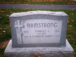 Anna Elizabeth <i>Sibbett</i> Armstrong