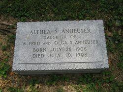 Althea S Anheuser