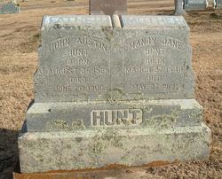 Pvt John Austin Hunt