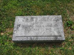 William Straub Anheuser