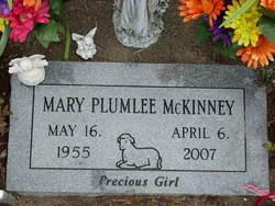 Mary <i>Plumlee</i> McKinney