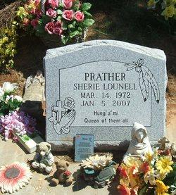 Sherie LouNell <i>Prather</i> Alberson
