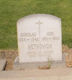 Nicholas Metkovich