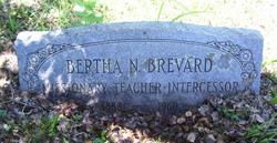 Bertha Naomi Brevard