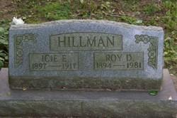 Icie E <i>Hacker</i> Hillman