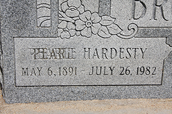 Elsie Pearl Pearle <i>Cox Hardesty</i> Broughton