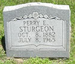 Perry Edward Sturgeon