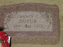 Chancy C Dufur