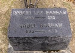 Mabel Rosa <i>Peters</i> Barham
