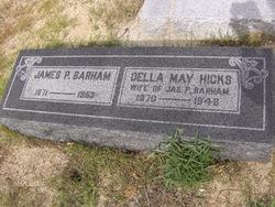 Della May <i>Hicks</i> Barham
