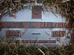 Walter F Alexander