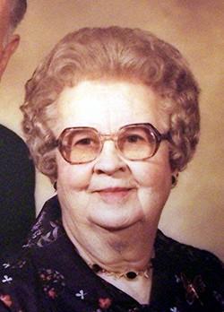 June Elizabeth <i>Lowe</i> Evans