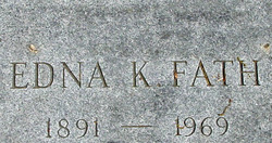 Edna Caroline <i>Koetter</i> Fath