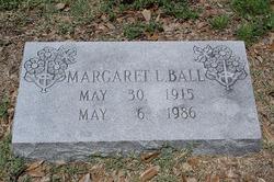 Margaret Louise Misty <i>Shumate</i> Ball