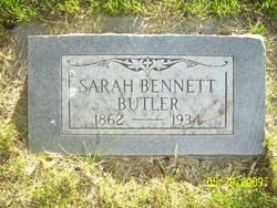 Sarah <i>Bennett</i> Butler