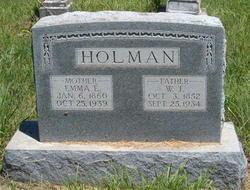 W T Holman
