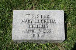 Sr Mary Lucretia Hellems