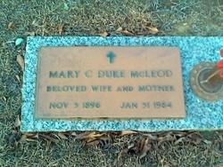 Mary Clifton <i>Duke</i> McLeod