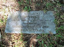 Bessie Mae <i>Ackerman</i> Reeves