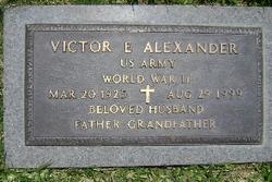 Victor E Alexander
