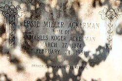 Epsie <i>Miller</i> Ackerman