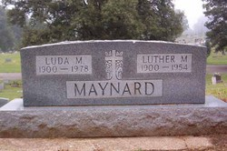 Luda M <i>Crumley</i> Maynard