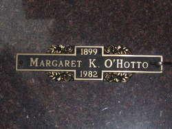 Margaret K O'Hotto