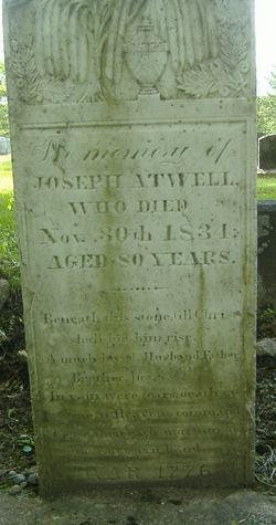 Pvt Joseph Atwell