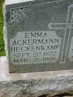 Emma Ackermann-Heckenkamp