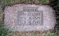 Ada Lavina <i>Tuttle</i> Lowe