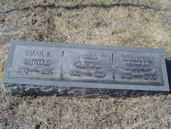 Martha Ellen Mattie <i>Gilmore</i> Broyles