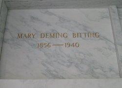 Mary <i>Deming</i> Bitting