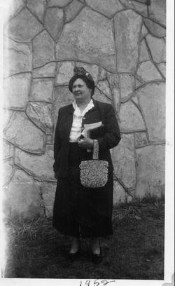 Effie Mae Aunt Effie <i>Sconce</i> Allen