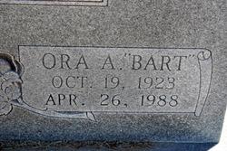 Ora Alexander Bart Bartlett