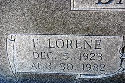 Florence Lorene <i>Williams</i> Bartlett