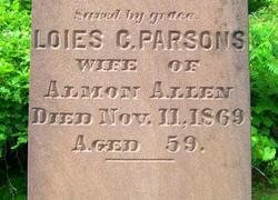 Lois C. <i>Parsons</i> Allen