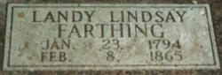 Landy Lindsay Farthing