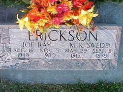 Joe Ray Erickson