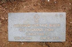 PFC Abraham Lincoln Briles