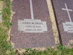 Anna M <i>Geiszler</i> Drefs