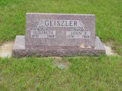 John P Geiszler