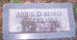Annie <i>Dawkins</i> Biard