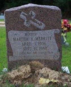 Martha Jane <i>Arnold</i> Merritt
