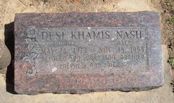 Desi Khamis Nash